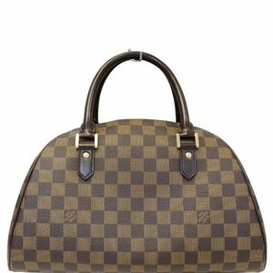 LOUIS VUITTON Ribera MM Damier Ebene Satchel Bag